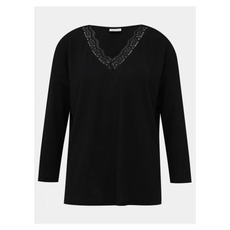 Black sweater with lace Jacqueline de Yong Choice
