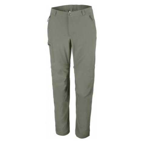 Columbia TRIPLE CANYON CONVERTIBLE PANT zelená - Pánske outdoorové nohavice