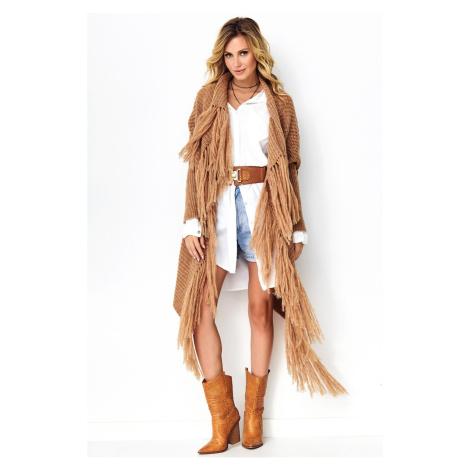Makadamia Woman's Sweater MAK S94 Camel