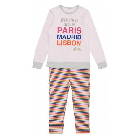 UNITED COLORS OF BENETTON Pyžamo  zmiešané farby / ružová / ružová