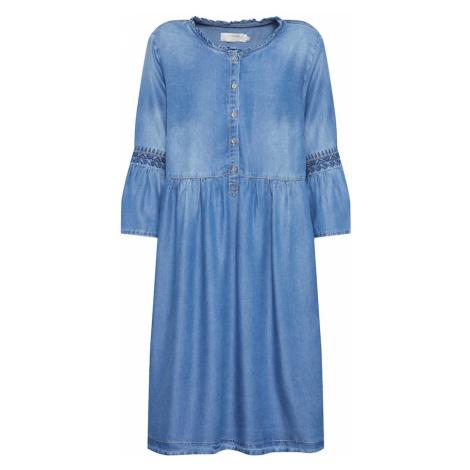 Cream Šaty 'Lussa'  modrá denim