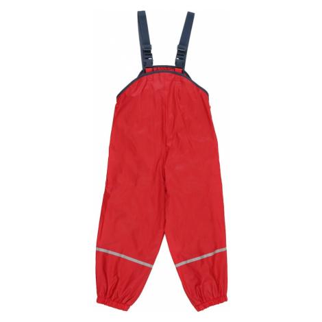 PLAYSHOES Funkčné nohavice  červená / námornícka modrá / svetlosivá
