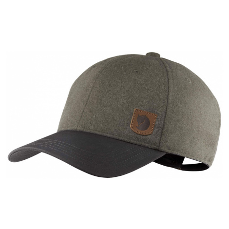 Fjällräven Greenland Wool Cap Dark Grey-One size šedé F78004-030-One size