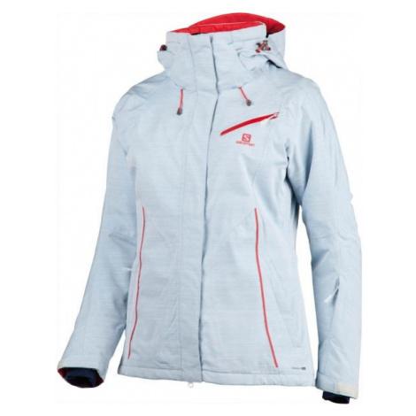 Salomon FANTASY JKT W modrá - Dámska zimná bunda