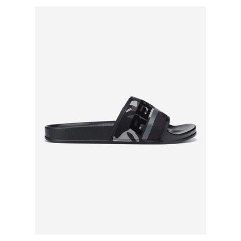 Concrete Pantofle Replay Čierna