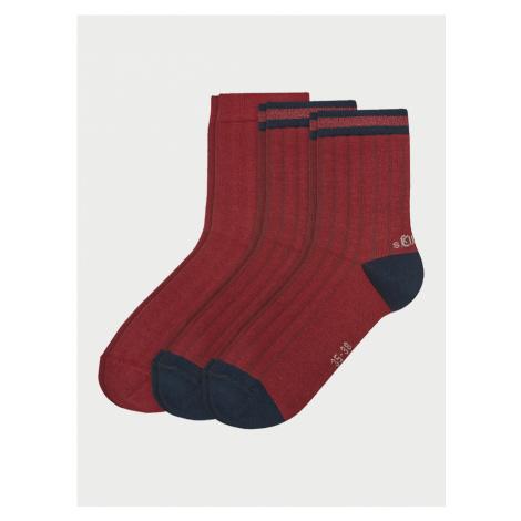 Ponožky s.Oliver S20549-3750 - 3 Pack Farebná