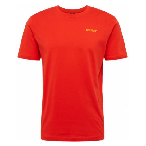 OAKLEY Funkčné tričko 'IRIDIUM'  oranžová