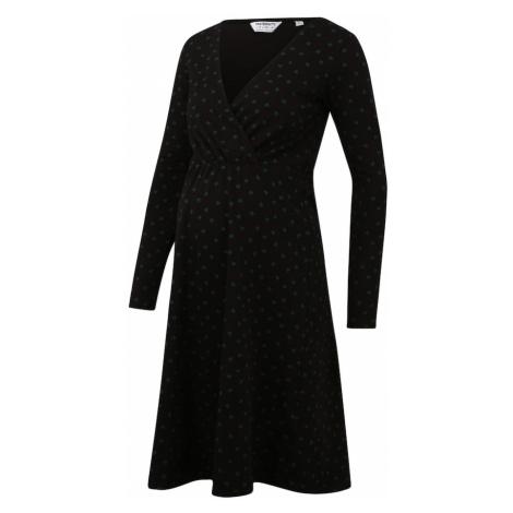 Dorothy Perkins Šaty  čierna / dymovo modrá