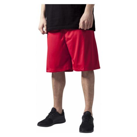 Urban Classics Bball Mesh Shorts red - Veľkosť:XXL