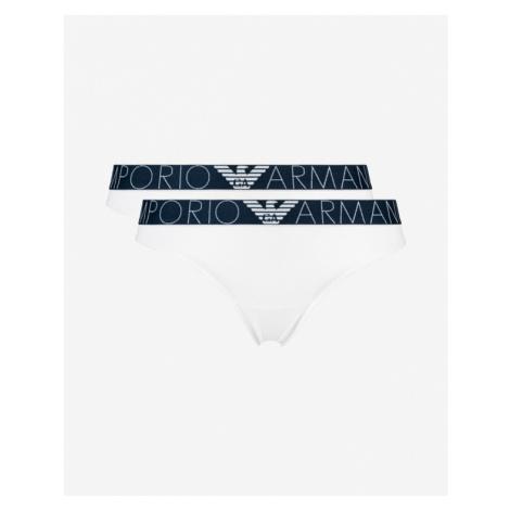 Emporio Armani Nohavičky 2 ks Biela