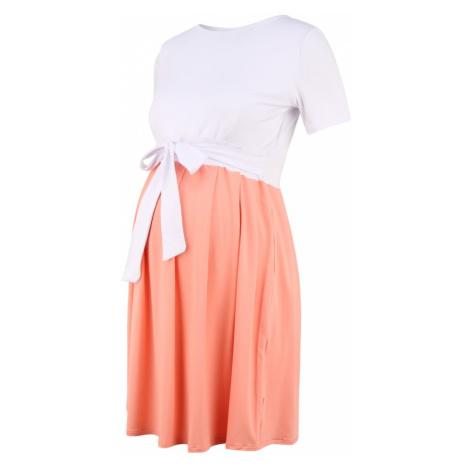 Bebefield Šaty 'Gemma'  biela / ružová