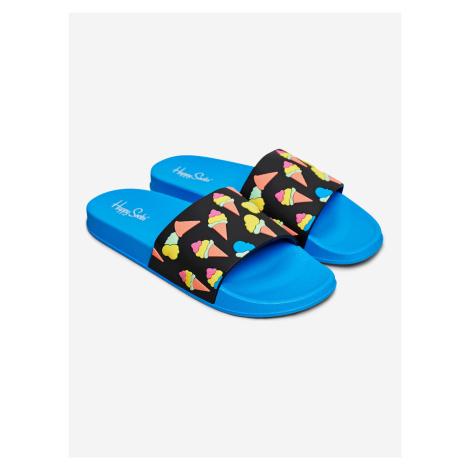 Pool Slider Ice Cream Pantofle Happy Socks Modrá