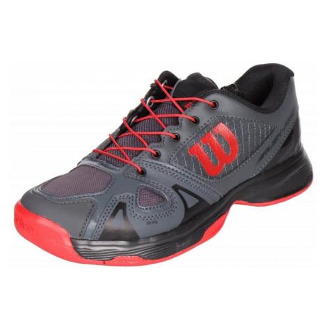 Rush Pro JR QL 2019 juniorská tenisová obuv barva: modrá;velikost (obuv / ponožky): UK 5 Wilson