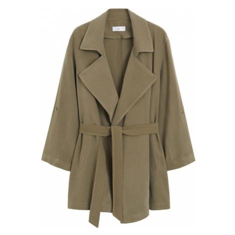 MANGO Prechodný kabát 'Guardapo'  kaki