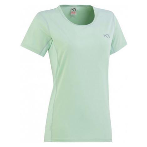 KARI TRAA NORA TEE zelená - Dámske tréningové tričko