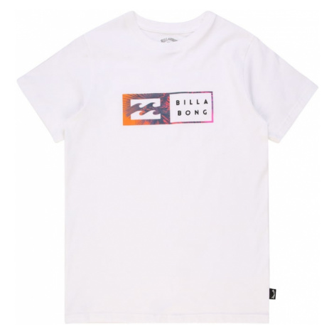 BILLABONG Funkčné tričko 'INVERSED'  biela / oranžová / ružová / modrofialová