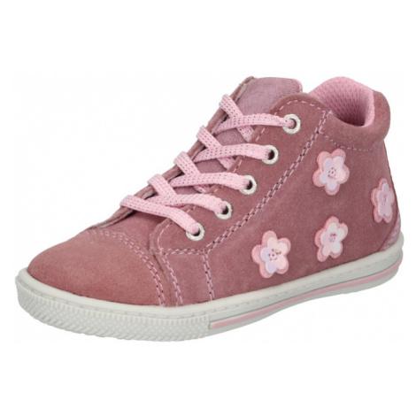 LURCHI Obuv na prvé kroky 'BEBA'  rosé / ružová / biela