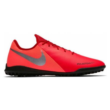 Nike PHANTOM VISION ACADEMY TF červená - Pánske turfy
