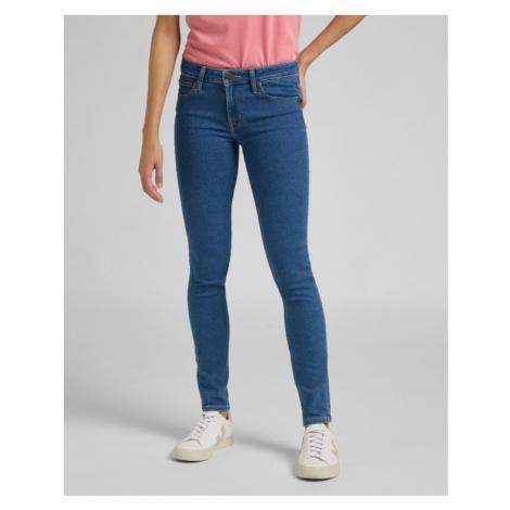 Lee Scarlett Jeans Modrá