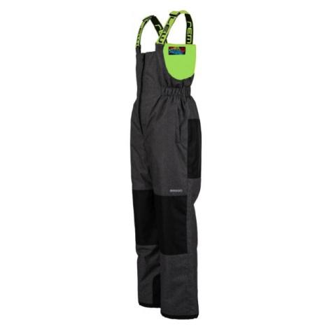 Lewro BONIFACE zelená - Detské lyžiarske nohavice