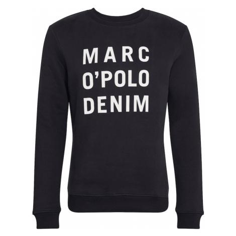 Marc O'Polo DENIM Mikina  čierna / biela