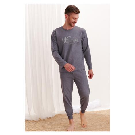 Tmavosivé pyžamo Michal Taro