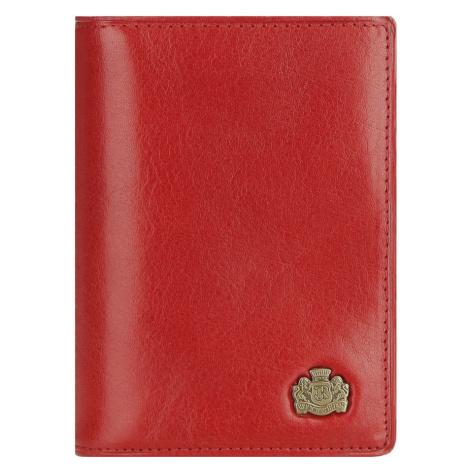 Červené puzdro na kreditné karty z kolekcie Arizona Wittchen