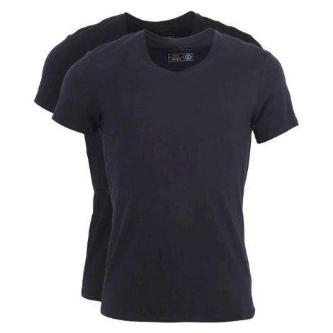 Sada dvoch čiernych tričiek s véčkovým výstrihom Blend