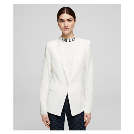 Sako Karl Lagerfeld Blazer W/ Pleated Back