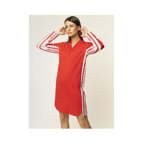 TwinSet Úpletové šaty 201TP2073 Regular Fit