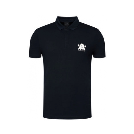 Armani Exchange Polokošeľa 6HZFFE ZJL4Z 1510 Tmavomodrá Regular Fit
