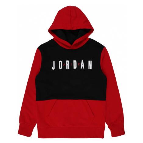 Jordan Mikina 'JUMPMAN'  čierna / červená / biela