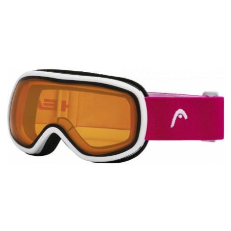 Head NINJA ružová - Detské a juniorské lyžiarske okuliare