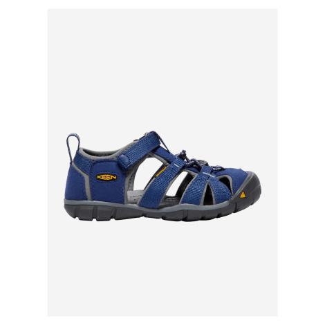 Topánky Keen Seacamp Ii Cnx Jr. Blue Depths/Gargoyle Us Modrá