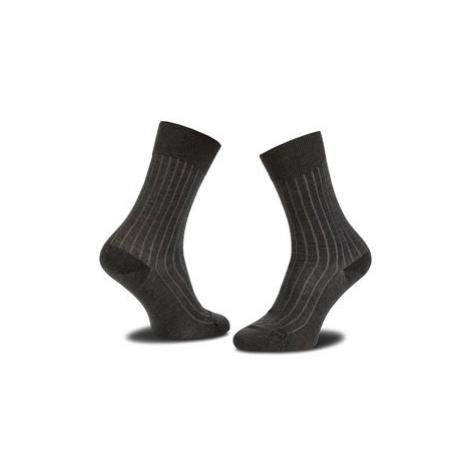 Joop! Vysoké pánske ponožky Socke Two Tone Ler 900.026_1 Sivá
