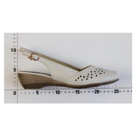 John Garfield sandále LO752705011 béžová - 36