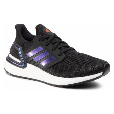 Topánky adidas - Ultraboost 20 J EG4861 Core Black/Boost Blue Violet Met./Cloud