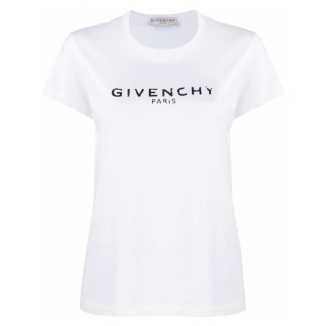 GIVENCHY Logo White tričko