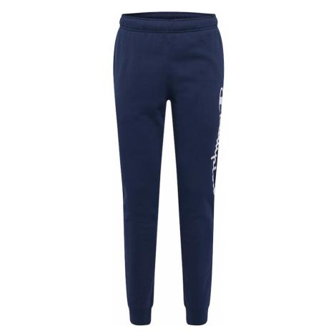 Champion Authentic Athletic Apparel Nohavice  námornícka modrá / biela