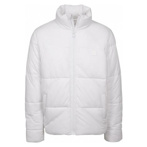 Urban Classics Zimná bunda  prírodná biela