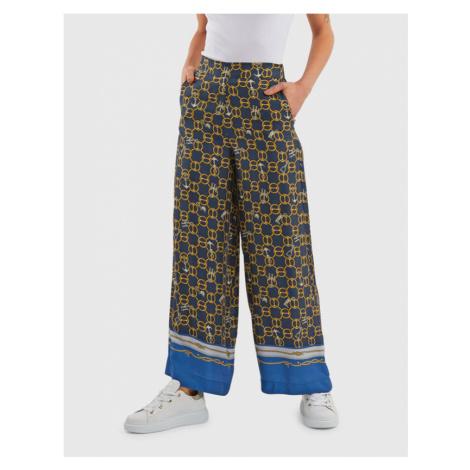 Nohavice La Martina Woman Chains Printed Pant