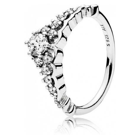 Pandora Trblietavý strieborný prsteň Diadém 196226CZ mm