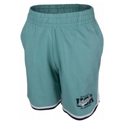 Russell Athletic BASKETBALL USA zelená - Chlapčenské šortky