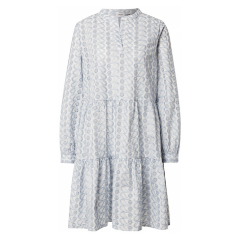 SAINT TROPEZ Šaty 'Wendy'  dymovo modrá / biela