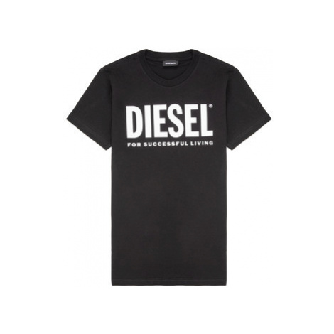 Diesel TJUSTLOGO Čierna