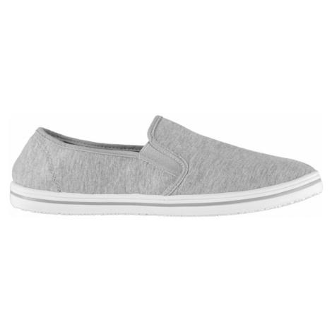Slazenger Mens Slip On Canvas Shoes