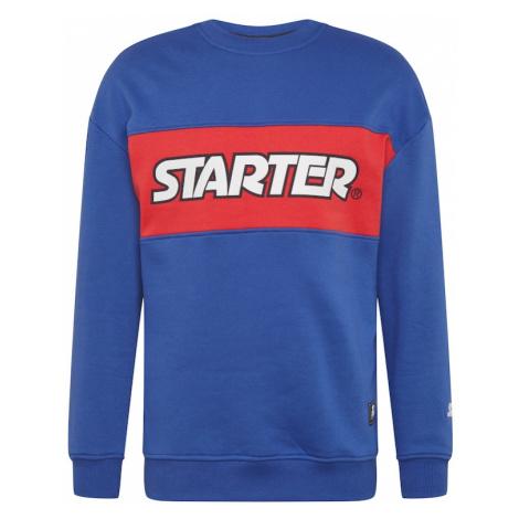 Starter Black Label Mikina  kráľovská modrá / grenadínová / biela / čierna