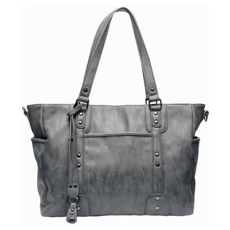 LITTLE COMPANY Prebaľovacia taška Paris Studs - antracite