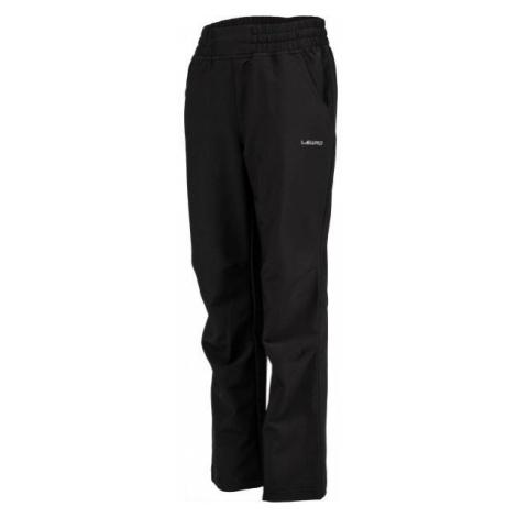 Lewro PERSIS čierna - Detské softshellové nohavice