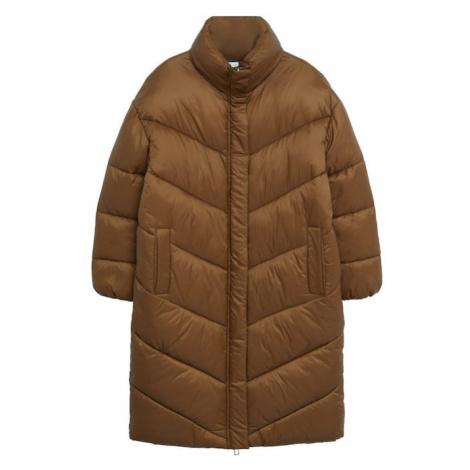 MANGO Zimný kabát 'Kellogs'  hnedá